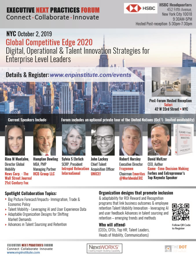 Top News Events Of 2020.Events 2019 Enp Institute
